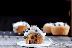 It's cookie dough inside a cupcake. Enough said.
