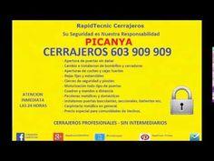 Cerrajeros Picanya 603 909 909 Baratos
