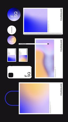 Design System, Interactive Design, Creative Director, Four Square, Behance, Graphic Design, Interaction Design, Visual Communication