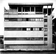 Casa Giuliani-Frigerio par Giuseppe Terragni à Côme (1939)