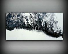 Pintura ORIGINAL arte pintura pintura abstracta por LDawningScott