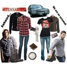 supernatural clothes style | fashion look from September 2010 featuring Daytrip tops, Juicy ...