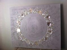 schilderijen met schelpen. Handgemaakt via hethippehuis