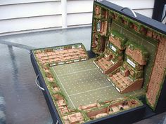 This is so flippin' cool! - Blood Bowl Pitch