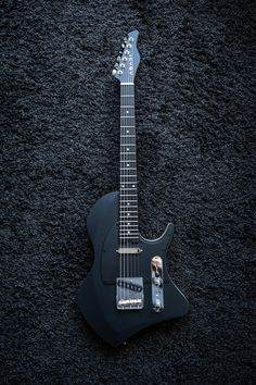 Electric Music, Black Electric Guitar, Tosin Abasi, Distortion Pedal, Music Pictures, Guitar Design, Concept, Raven, Rock