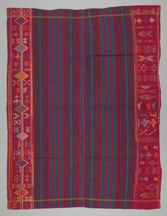 Nupe woman's weave. Textile Museum of Canada
