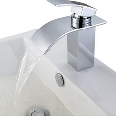 Image Result For Wall Mount Waterfall Tub Filler