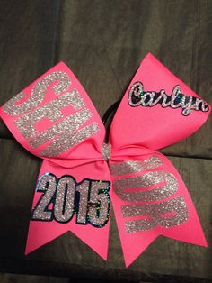 Hey, I found this really awesome Etsy listing at https://www.etsy.com/listing/202327575/senior-offset-bow-2015-2016-etc