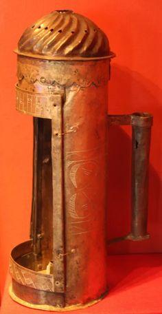 An unknow medieval lantern from Hälsingland | historical textiles Modern Lanterns, Antique Lanterns, Candle Lamp, Candle Lanterns, Candle Lighting, Medieval Life, Medieval Art, Craftsman Lighting, Medieval Crafts