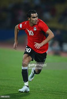Ahmed Eid of Egypt in action during the FIFA Confederations Cup match between Egypt and USA at Royal Bafokeng Stadium on June 21 2009 in Rustenburg...
