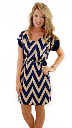 navy chevron.