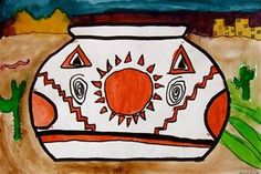 Check out student artwork posted to Artsonia from the Native American Vessel  -5 project gallery at Whitney Elementary School.