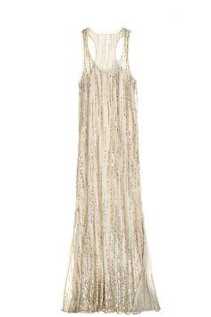 Angel Silk Sequin Maxi Dress | Calypso St. Barth