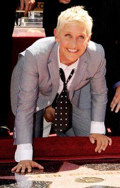 Ellen DeGeneres honored with Hollywood Walk of Fame Star!