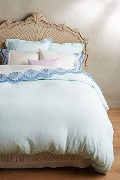 Soft-Washed Linen Duvet #anthropologie