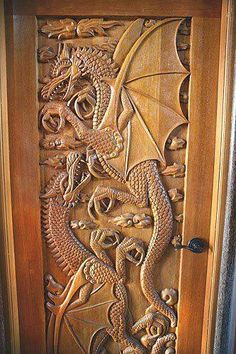 Carved Doors Wooden Ideas Wood Doors Are Warm and Welcoming Carved Doors Wooden Ideas. Custom wood doors, whether elegant or rustic, are a durable choice that can really set off the style of your h… Cool Doors, The Doors, Unique Doors, Windows And Doors, Front Doors, Entry Doors, Knobs And Knockers, Wooden Doors, Doorway