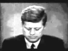 July 25, 1961: US President John F. Kennedy conducts a radio and television report to the American People on the Berlin Crisis. In that report he declares to the Soviets that attack upon that city [West Berlin] will be regarded as an attack upon us all [US & NATO member nations].