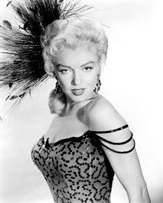 "Marilyn Monroe, publicity photo for ""River of No Return"" by Frank Powolny, ca.1953-54."