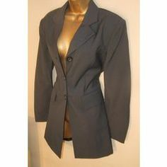 suits a 10 / 34 New slate greay Annie Taylor Suit Jacket slate wool blend fitted lined. in the Suits category was sold for on 20 Nov at by Icontact in Cape Town Buy Suits, Slate, Annie, Wool Blend, Suit Jacket, Fitness, Jackets, Stuff To Buy, Down Jackets