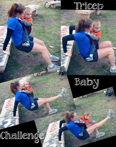 Baby participation in workouts