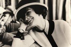Coco Chanel  Gabrielle Bonheur Chanel called Coco Chanel (1883-1971), French fashion designer. Ca. 1935.