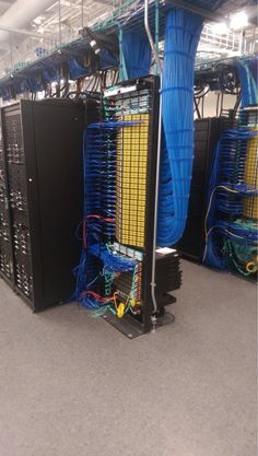 An absolutely MASSIVE data center located at IBM