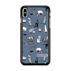 Vera Bradley New Pattern Cats Meow iPhone XS Max Case – Miloscase Iphone 11 Pro Case, Iphone 7 Plus Cases, Phone Cases, Vera Bradley, Cats, Pattern, Samsung Galaxy, Gatos, Patterns