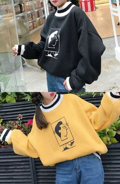 Princessy - Printed Sweatshirt #sweatshirt #flashdeal #KoreanFashion