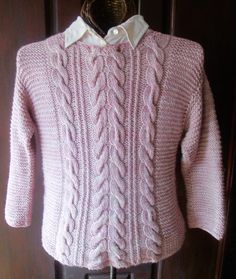 730390524751 Karen Walker · Knitting · Gaelica A Cabled Pullover in pdf by heirloomlace  on Etsy Jumpers For Women