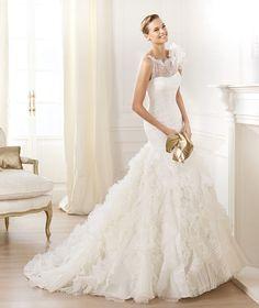 abito da sposa 2014 - Pronovias ti presenta labito da sposa Leandra. Dreams 2014. | Pronovias