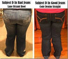 Jeans for Most of America: A detailed guide on buying great, flattering jeans for the average woman.