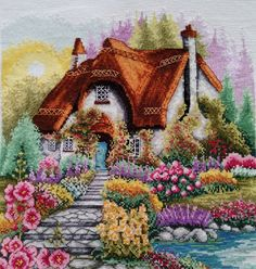Thrilling Designing Your Own Cross Stitch Embroidery Patterns Ideas. Exhilarating Designing Your Own Cross Stitch Embroidery Patterns Ideas. Silk Ribbon Embroidery, Cross Stitch Embroidery, Embroidery Patterns, Cross Stitch Patterns, Embroidery Supplies, Ribbon Art, Knitting Videos, Cross Stitching, Pixel Art