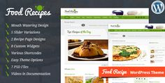 Food Recipes is a fully responsive, feature rich and beautifully designed WordPress theme for recipes related websites. This theme is perfect for professional Chefs and Cooking Experts. Food Recipe...