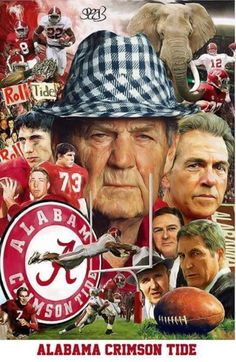 Alabama football  #Alabama #RollTide #BuiltByBama #Bama #BamaNation #CrimsonTide #RTR #Tide #RammerJammer