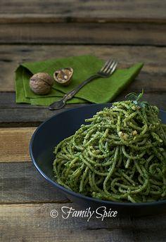 Roasted Parsnip Soup with Walnut Pesto | Recipe | Roasted Parsnips ...