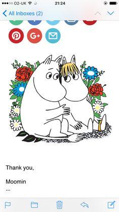 Moomin cuddle
