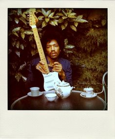 tea party with Jimmy Hendrix