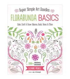 Adult Coloring Book Design Originals Flora Basics
