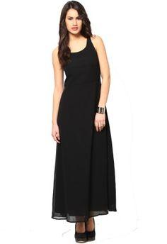 Buy black maxi dress