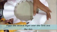 лучший поделки домашний декор легкий мяч, используя thermocol очки, домашний декор