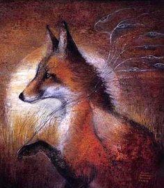 Fox Wind (1989) by Susan Seddon Boulet WILD WOMAN SISTERHOOD™