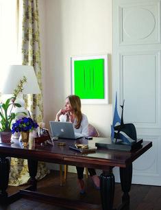 girlboss aerin lauder home office