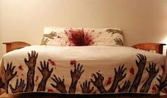 Night Terrors Guaranteed: Zombie Bedding