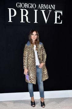 Giorgio Armani Prive : Front Row - Paris Fashion Week - Haute Couture Spring Summer 2016