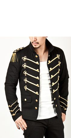 Runway Lux Gold Embroidery Napoleon Jacket