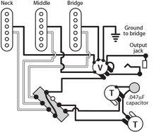 Wiring Diagram Squier Jazz B Seymour Duncan Wiring