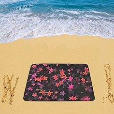 Waterproof Sandless Beach Mat Picnic Blanket Outdoor Camping Mat Stars Beach Blanket 78 x 60 Inch *** More info could be found at the image url.