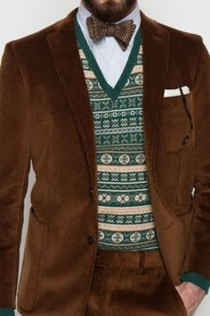 Wes Anderson's more #menswear-oriented brother.