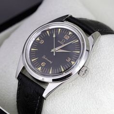 Omega Railmaster 1963 Nice Watches, Wrist Watches, Men's Watches, Vintage Watches, Watches For Men, Omega Railmaster, Moon Watch, Swiss Watch, Vintage Omega