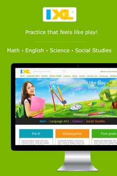 Online practice kids will love! Math, English, science and social studies for K-12